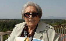 Fallece a los 103 años Neus Català, superviviente de los campos nazis