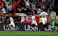 El Sevilla se asoma a la Champions