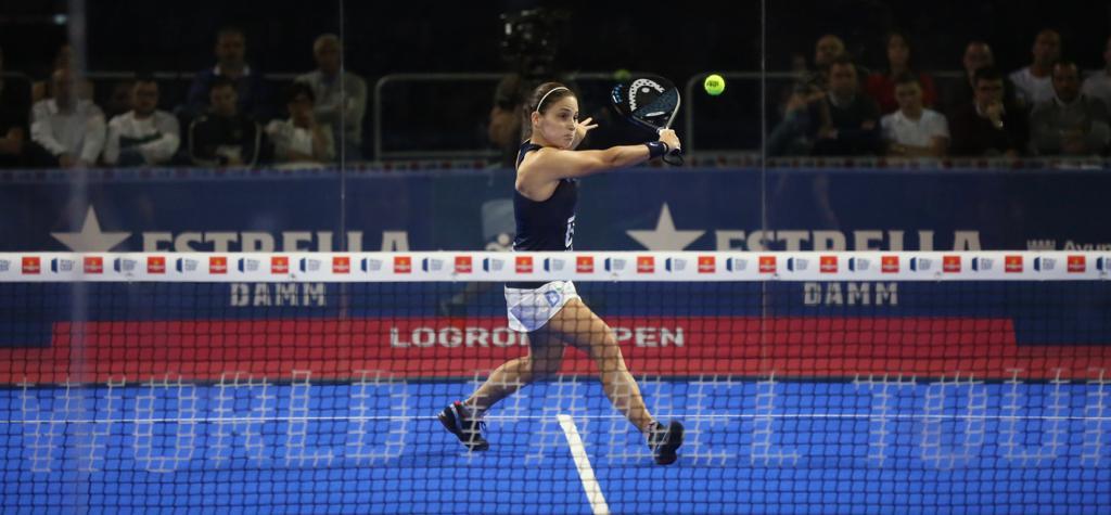 Eli Amatriain y Patty Llaguno se despiden del Logroño Open en una reñida semifinal