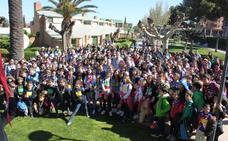 Cerca de 300 scouts celebran unidos San Jorge en Alfaro