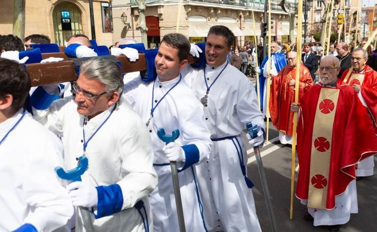 La procesión de La Borriquita en Logroño