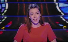 La rinconera Lucía España, en la final de Prodigios de TVE