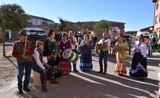 Caballos, sevillanas y buen ambiente, ayer en Valverde