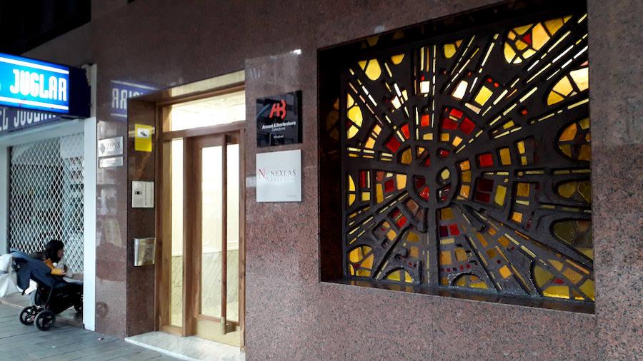 #Andestaba: una vidriera que embellece Gran Vía, 46