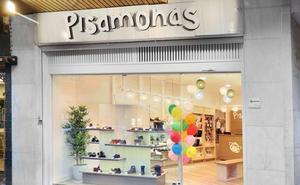 La zapatería infantil Pisamonas abre su primera tienda en Logroño