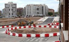 El asfalto llega al enlace de Hermanos Hircio-Belchite