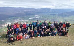 El Club Sampol recorrió la Sierra de Urbasa