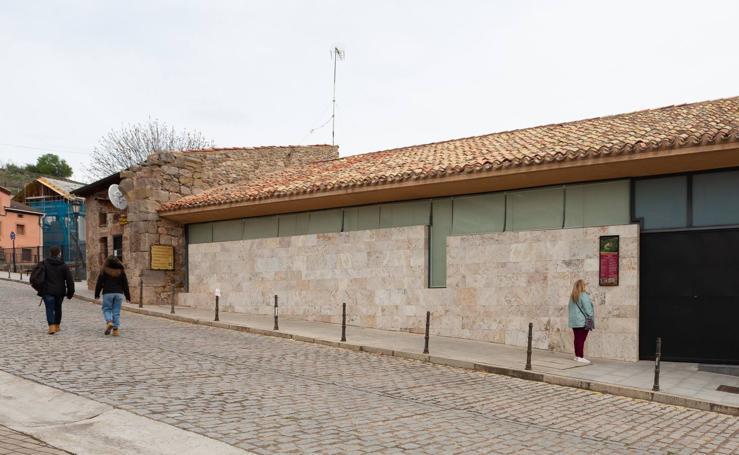 El Monasterio de Yuso, cerrado