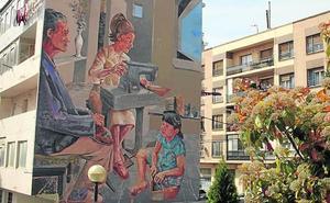 Un mural para las zapateras