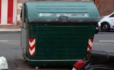 Condenados dos menores a trabajos para la comunidad por quemar un contenedor en Logroño