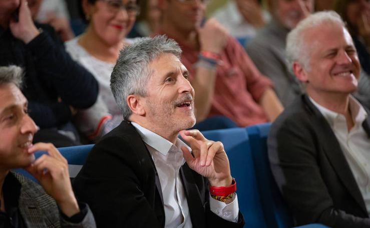 Acto electoral de Marlaska en Logroño