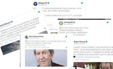 Las redes lamentan la muerte de Manuel Alcántara