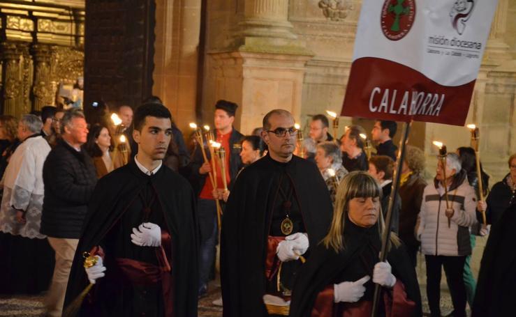 Vía crucis penitencial juvenil de Calahorra
