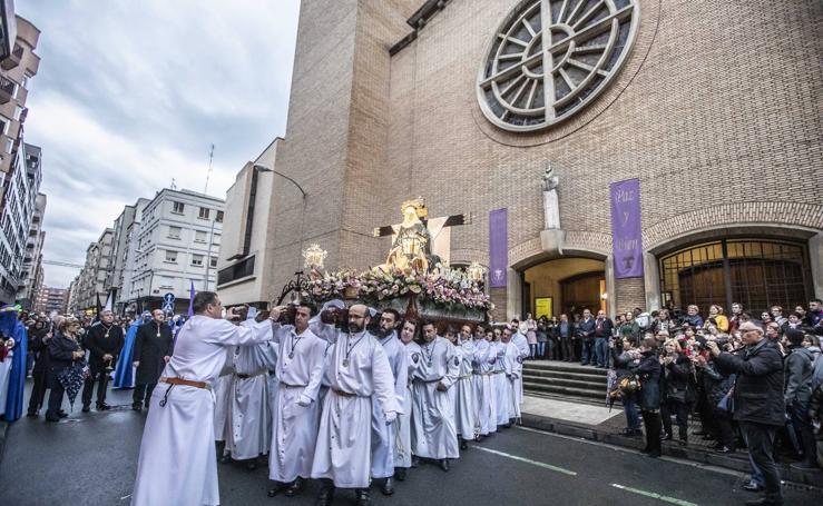 Vía Crucis de Nuestra Señora de la Piedad en Logroño