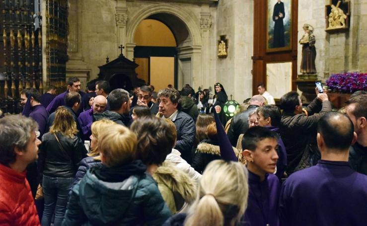 Suspendida la procesión del Calvario de Logroño