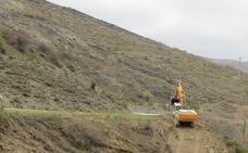 Comienzan las obras de la LR-250 entre Soto y Terroba