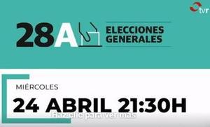 El debate de La Rioja, en TVR