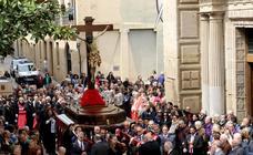Vía Crucis y traslado del Santo Cristo de las Ánimas de Logroño