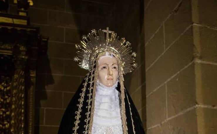 Procesión de Jueves Santo en Santo Domingo