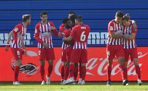 Lemar enseña el camino al Atlético
