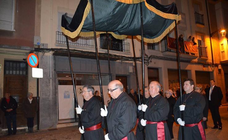 Procesión del Santo Entierro en Calahorra