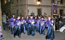 Procesión de Viernes Santo en Nájera