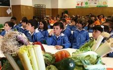 Las verduras van al 'cole'