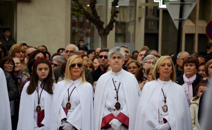 Procesión del Cristo Resucitado en Calahorra