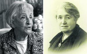 Dos escritoras para un Día del Libro de memoria y poesía