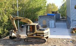 Prorrogada un mes la obra de la estación de bombeo de aguas residuales najerina