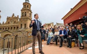 El PSOE pregunta con qué criterios y condiciones el Casino de Alfaro acogió el acto de Casado