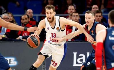 La templanza del CSKA y un gran De Colo superan al Baskonia