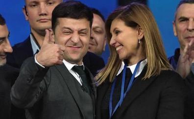 Elena Zelénskaya, la creadora de la imagen del nuevo presidente de Ucrania