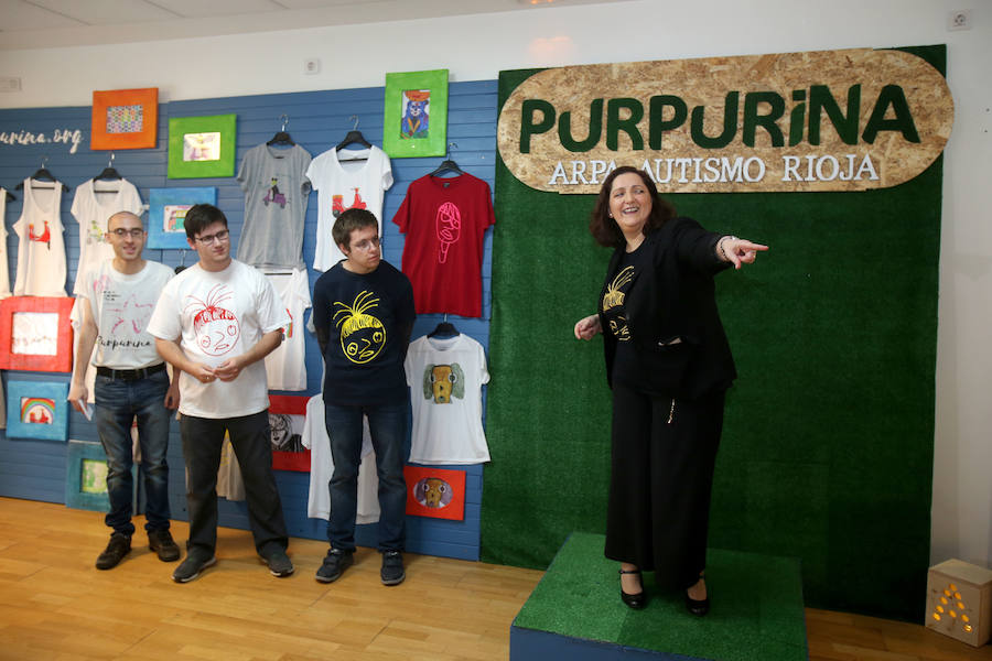El proyecto Purpurina, pasaporte laboral para jóvenes autistas