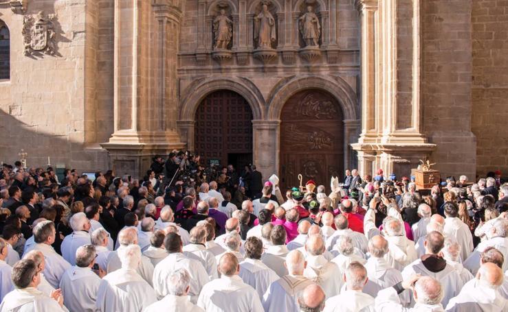 Inauguración del Año Jubilar Calceatense en Santo Domingo