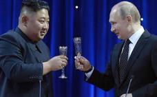 Kim Jong-un invita a Putin a Corea del Norte