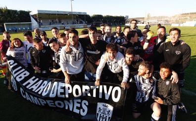 El Haro, campeón de la Tercera riojana tras golear al Alberite
