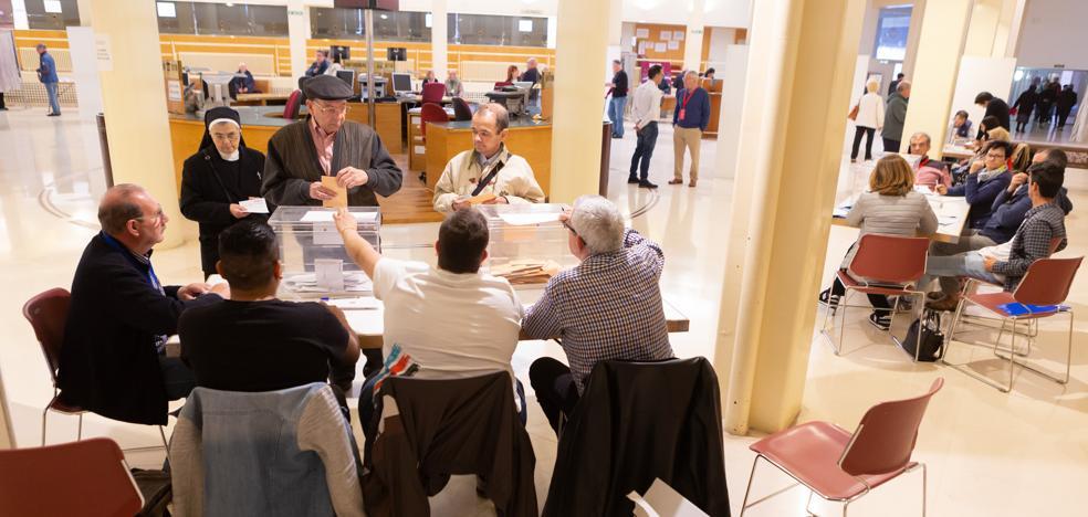 28A: PSOE y Cs aprovechan el descalabro del PP en Logroño y su área metropolitana