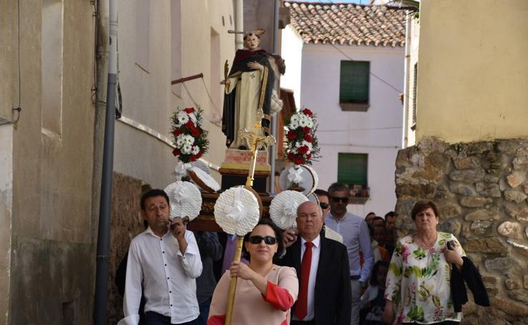 Procesión de San Pedro mártir de Verona en Rincón de Olivedo
