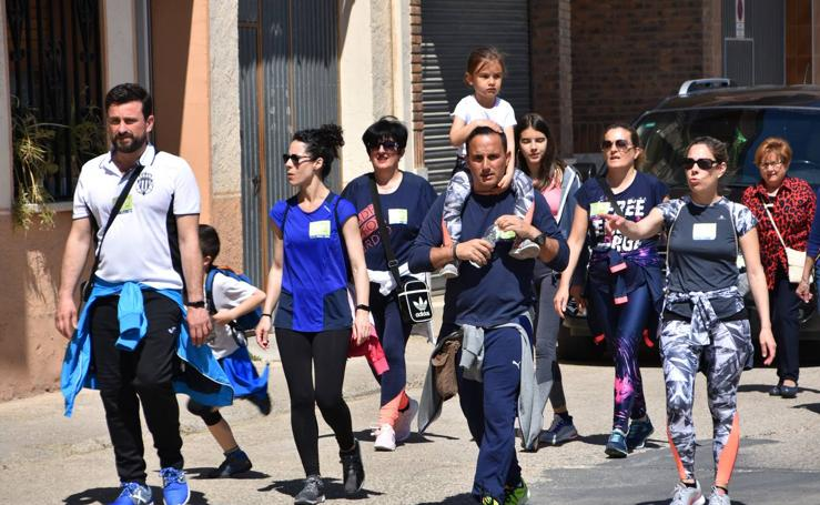'Marcha por una vida sana' en Rincón de Soto