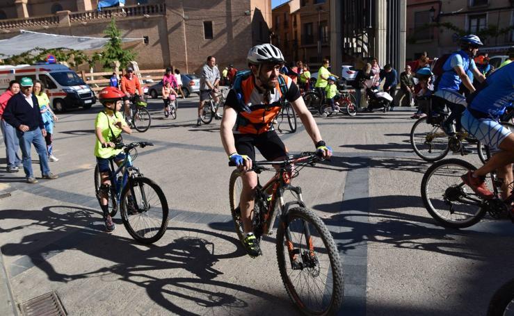 Aldeanueva de Ebro: 21ª edición de la marcha en bicicleta a la finca de Yerga