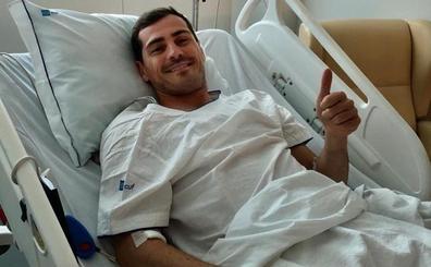 Casillas, operado de urgencia tras sufrir un infarto entrenando con el Oporto
