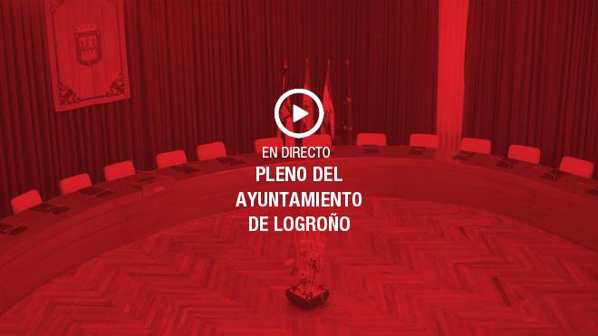 En directo: el pleno del Ayuntamiento de Logroño