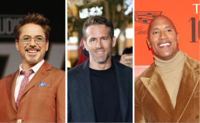Robert Downey Junior, Ryan Reynolds y Dwayne Johnson: los sueldos más altos del cine en 2019