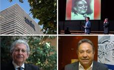 La UNIR y la Cla Pepe Eizaga, Medallas de La Rioja; y López de Silanes y Basilio García, Riojanos Ilustres