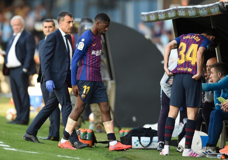 Las mejores imágenes del Celta-Barcelona