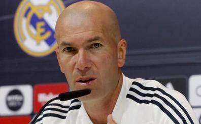 Zidane: «Habrá cambios, pero muchos jugadores se van a quedar»