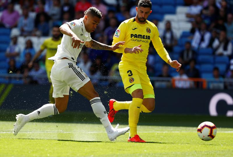 Las mejores imágenes del Real Madrid-Villarreal
