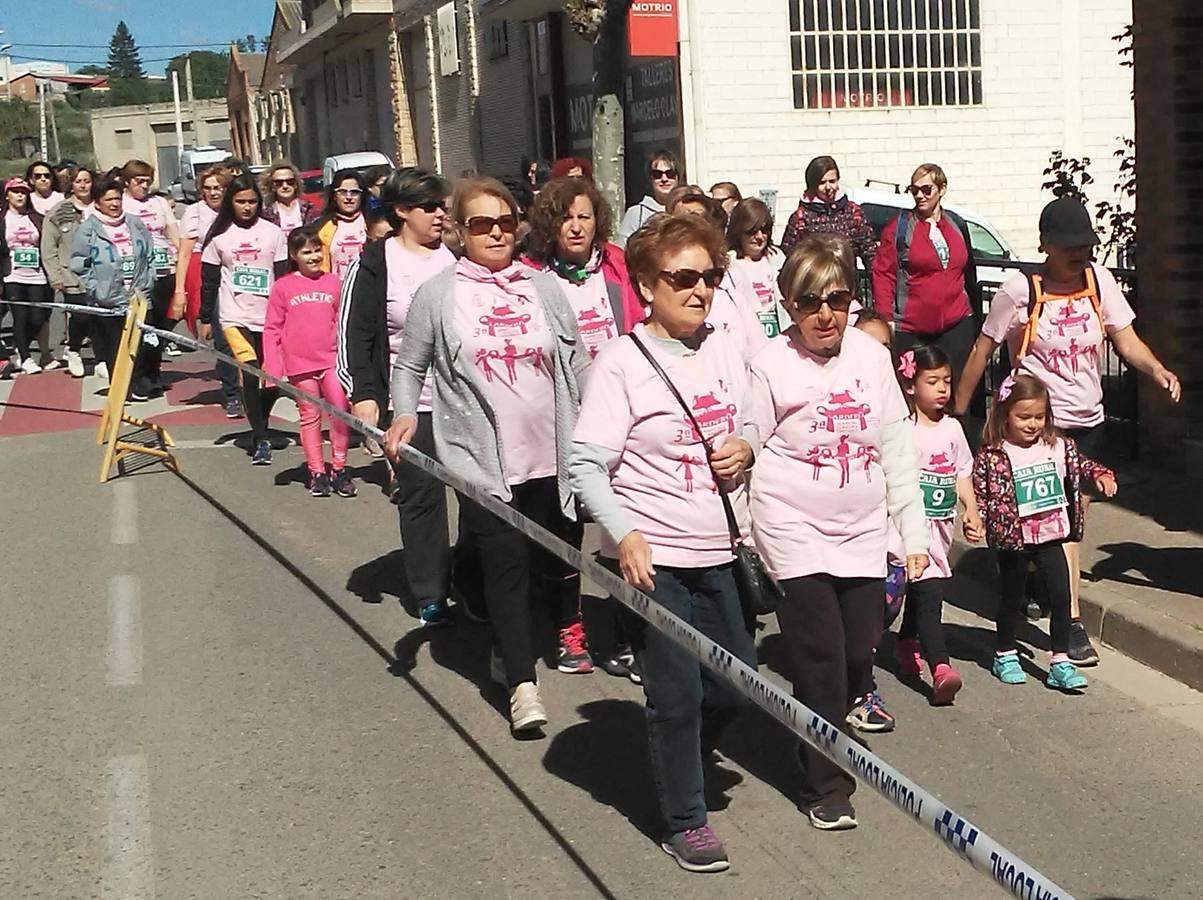 III Marcha de la Mujer contra el Cáncer en Lardero