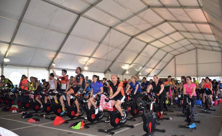 Maratón de ciclo-indoor en Calahorra